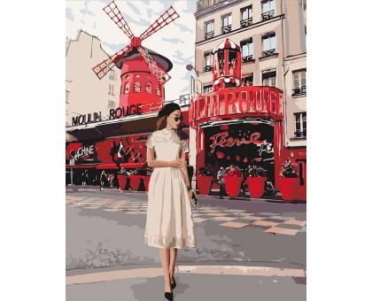 Картина по номерам Moulin Rouge