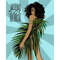 Картина по номерам Miami Beach
