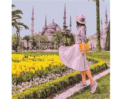 Картина по номерам Ярмарка цветов