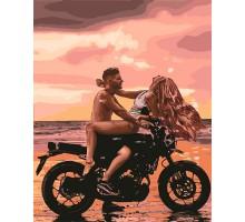 Картина по номерам Страсть на пляже