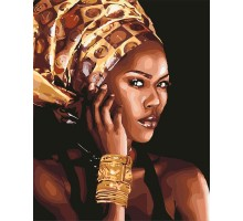 Картина по номерам Африканская мода