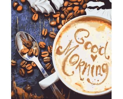 Картина по номерам Good Morning