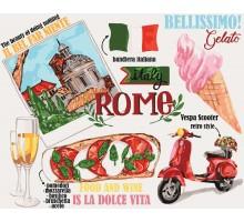 Картина по номерам Краски Рима