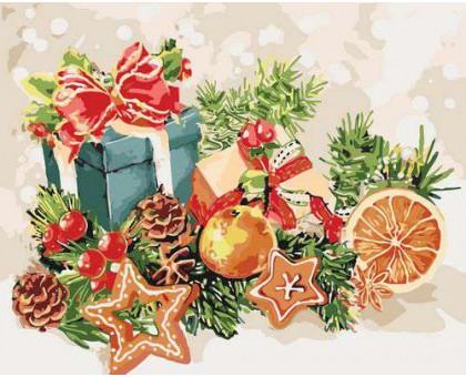 Картина по номерам Дух Рождества