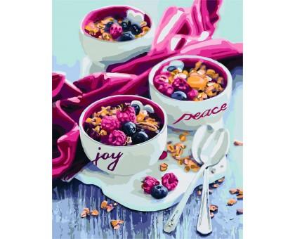 Картина по номерам Сладкий вкус утра