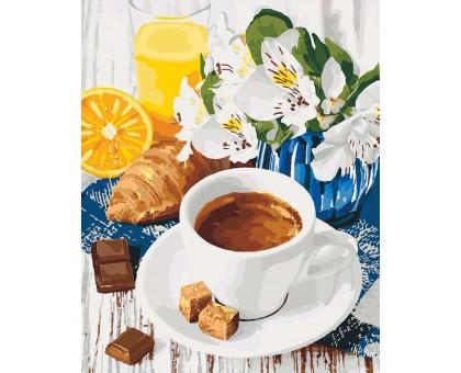 Картина по номерам Весенний завтрак