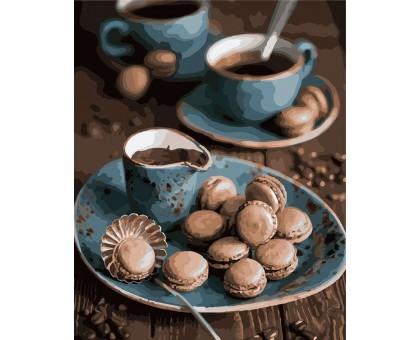 Картина по номерам Утренний кофе