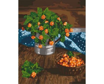 Картина по номерам Царские ягоды