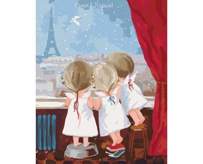 Картина по номерам Утро в Париже 2 Гапчинская
