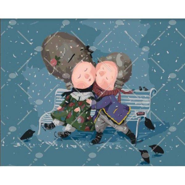Картина по номерам Запиши мой поцелуй Гапчинская