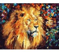 Картина по номерам Великолепный лев