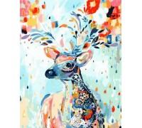 Картина по номерам Сказочный олень