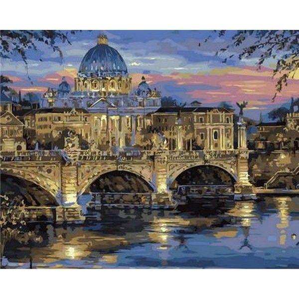Картина по номерам Сумерки над Римом