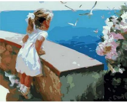 Картина по номерам Ласковое море