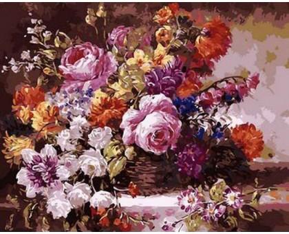 Картина по номерам Роскошный букет