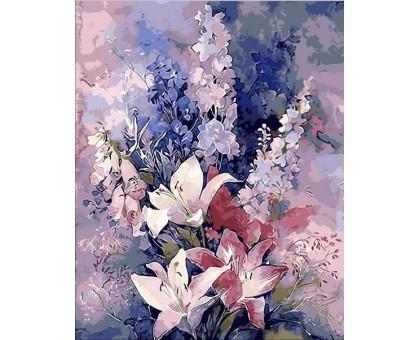 Картина по номерам Розовые лилии