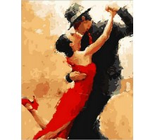Картина по номерам Магия танго