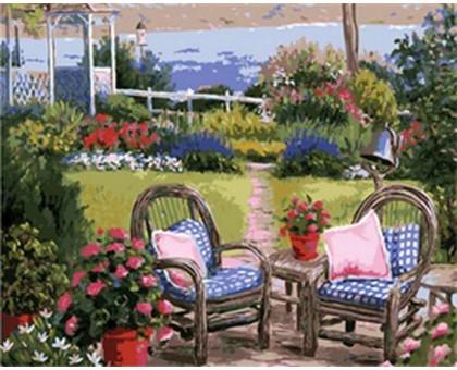 Раскраска по номерам Летний полдень