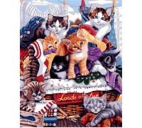 Картина по номерам Озорные котята