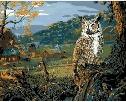 Картина по номерам Вечерняя охота