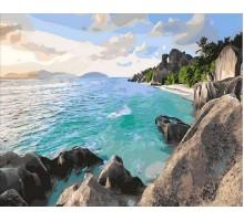 Картина по номерам Карибский берег