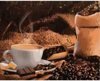 Картина по номерам Кофе с шоколадом