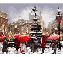 Картина по номерам В ожидании Рождества