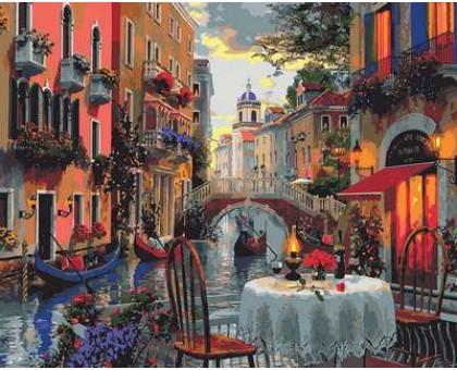 Картина по номерам Вечер полный романтики