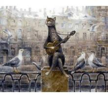 Картина по номерам Лирический кот