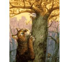 Картина по номерам Ангел и его кот