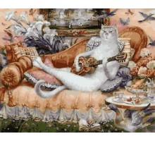 Картина по номерам Дом белой кошки