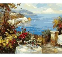 Картина по номерам Завтрак на терассе