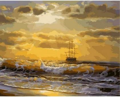 Картина по номерам Море на рассвете