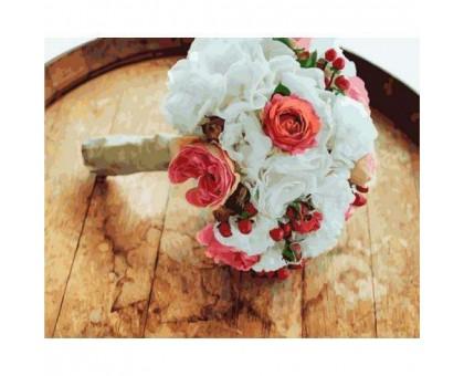 Картина по номерам Букет невесты