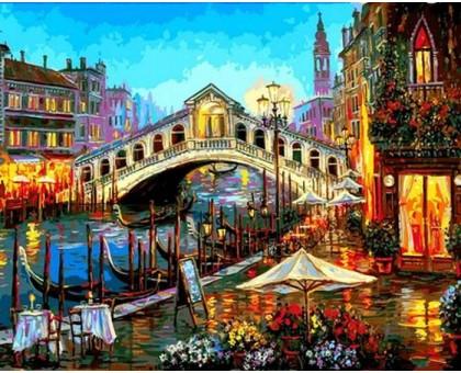 Картина по номерам Огни ночной Венеции
