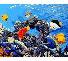 Картина по номерам Коралловый риф