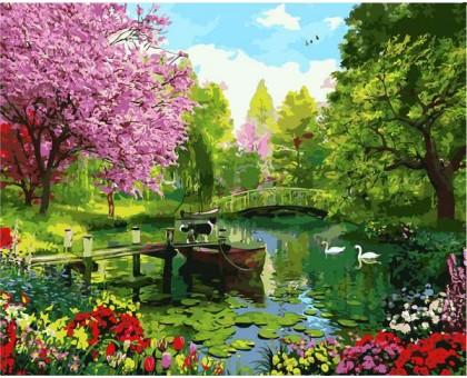 Картина по номерам Вишневый сад