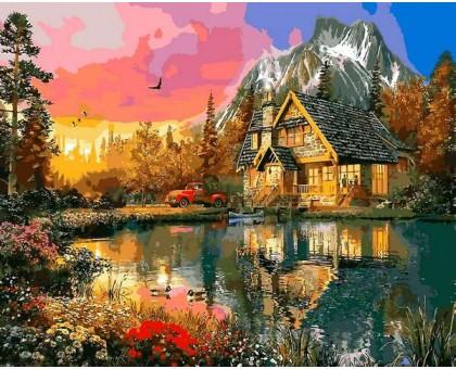 Картина по номерам Краски заката