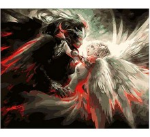 Картина по номерам Ангел и Демон