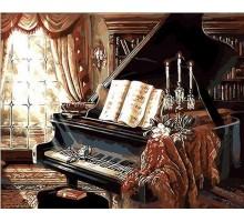 Картина по номерам Музыкальный вечер