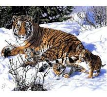 Картина по номерам Первый снег