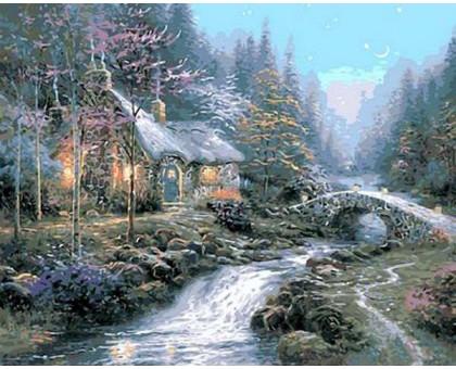 Картина по номерам Дом волшебника