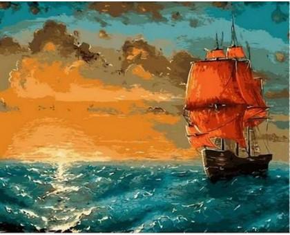Картина по номерам Алые паруса