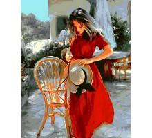 Картина по номерам Красная лента
