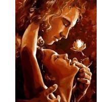 Картина по номерам Минута страсти