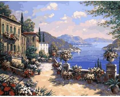 Раскраска по номерам Итальянская набережная