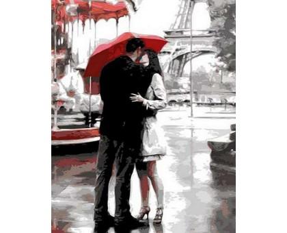 Картина по номерам Поцелуй в Париже