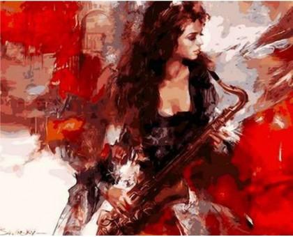 Картина по номерам Музыка страсти