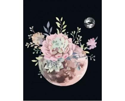 Картина по номерам Планета цветов