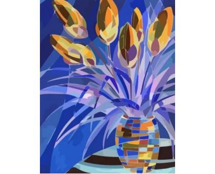 Картина по номерам Весенние цветы